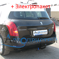 Фаркоп - Peugeot 308 SW Универсал (2008-2014), фото 1