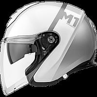 Мотошлем Schuberth M1 Nova White белый серый 57 (M)
