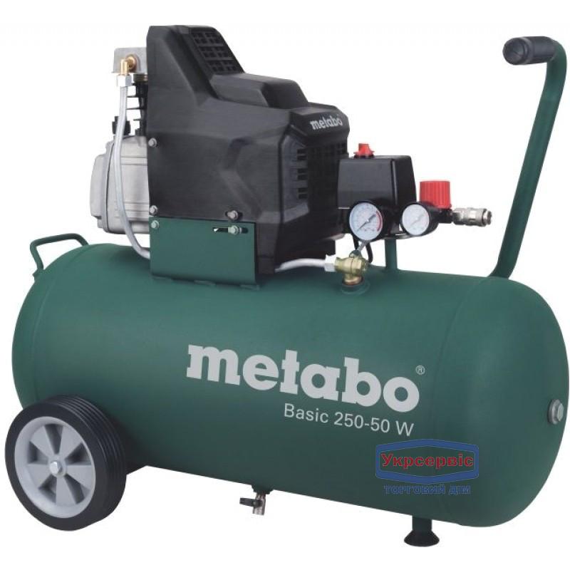 Масляный компрессор Metabo Basic250-50W