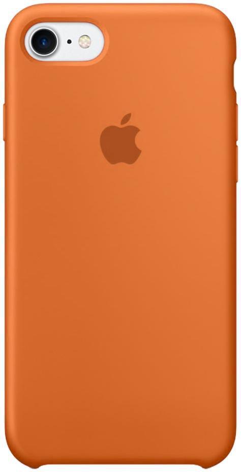 Чехол накладка Silicone Case для iPhone 6/6s - Brown