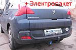 Фаркоп - Peugeot 3008 Кроссовер (2009-2016)