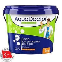 """Средство для понижения уровня pH в гранулах AquaDoctor """"pH-minus"""" 1 кг"""
