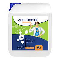 """Жидкость для понижения уровня pH AquaDoctor """"pH-minus"""" 20 л (серная кислота 35%)"""