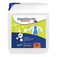 """Жидкость для понижения уровня pH AquaDoctor """"pH-minus HL"""" 20 л (соляная кислота 14%)"""