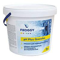 """Средство для повышения уровня pH в гранулах Froggy """"pH-plus Granules"""" 5 кг"""