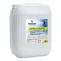 """Жидкость для понижения уровня pH Froggy """"pH-minus Liquid SА"""" 20 л (серная кислота 35%)"""