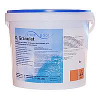 Дезинфекант в гранулах на основе кислорода O2 Fresh Pool 5 кг