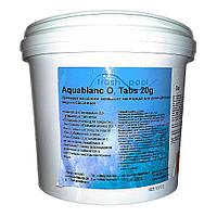 Дезинфекант в таблетках по 200 г на основе кислорода O2 Fresh Pool 5 кг