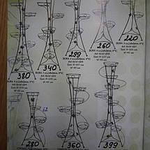 """Подставка кованая для цветов """"Башня"""" на 3 вазона , фото 3"""