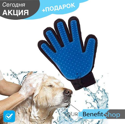 PET BRUSH GLOVE Перчатка для снятия шерсти с домашних животных | перчатка для вычесывания шерсти