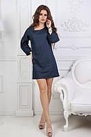 Женское джинсовое платье мини