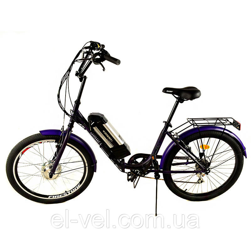 Электровелосипед АИСТ Люкс SMART24 XF07 LED900S 36В 350Вт литиевая батарея
