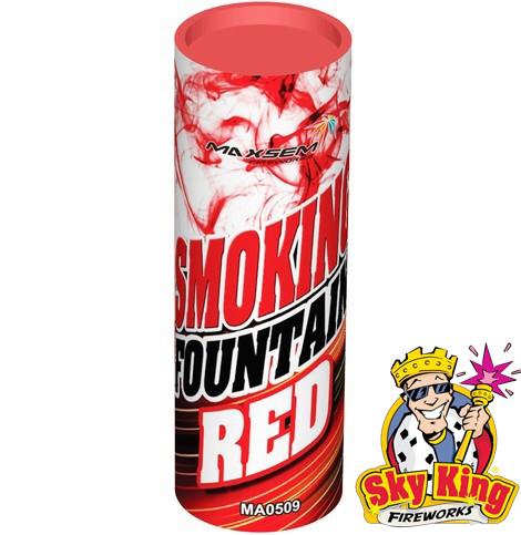 Цветной дым SMOKING красный  1 шт. MA0509