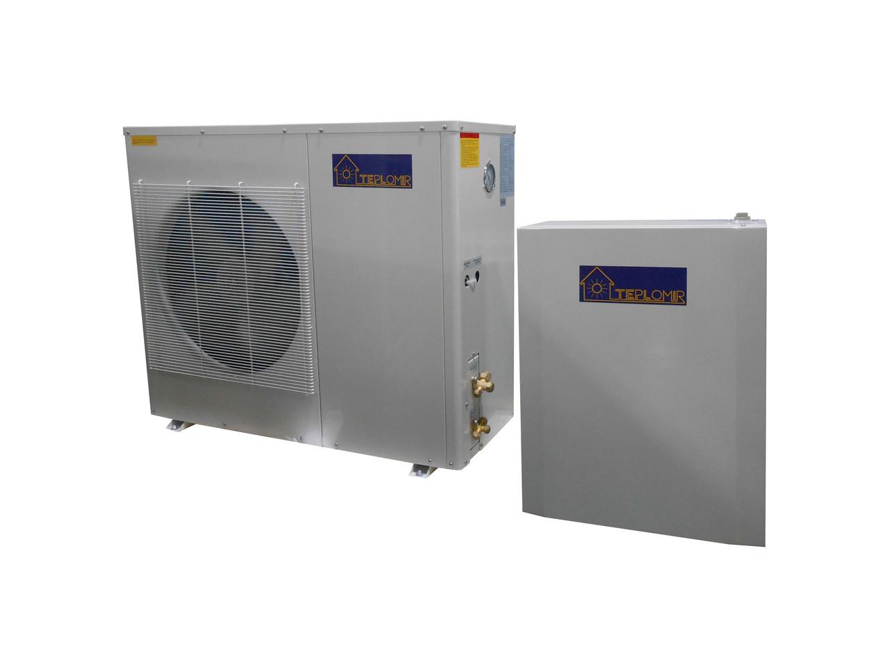 Тепловой насос воздух-вода TEPLOMIR EVI08 split