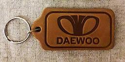Автомобильный брелок DAEWOO (ДЕО), брелки для автомобильных ключей, автобрелки, брелок кожаный