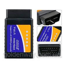 Автосканер для диагностики ELM327 WiFi v1.5 разъем OBD2 чип PIC18F25K80 для Android и iOS iPhone