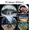 Линзы FishEye 3 в 1, фишай, рыбий глаз, макро, wide, объектив, фото 5