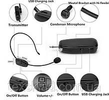 Бездротовий наголовний мікрофон - вільні руки 2,4 G