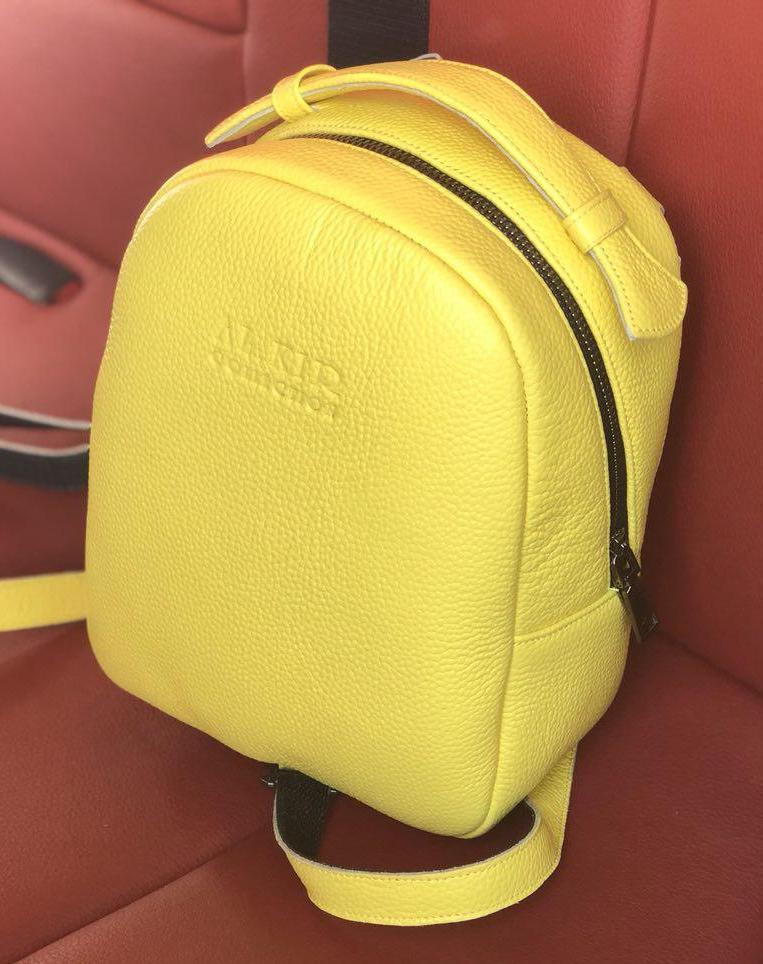 Рюкзак 0018  желтый флотар