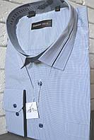 Мужская рубашка-великан больших размеров (размеры 47,48)