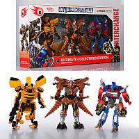 Трансформеры 4119 3 героя в комплекте в коробке