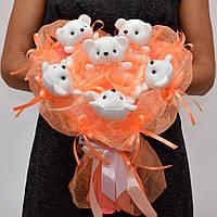 Букет из игрушек / подарок на 14 февраля / подарок для девушки / букет на 8 марта / подарок на день рождения