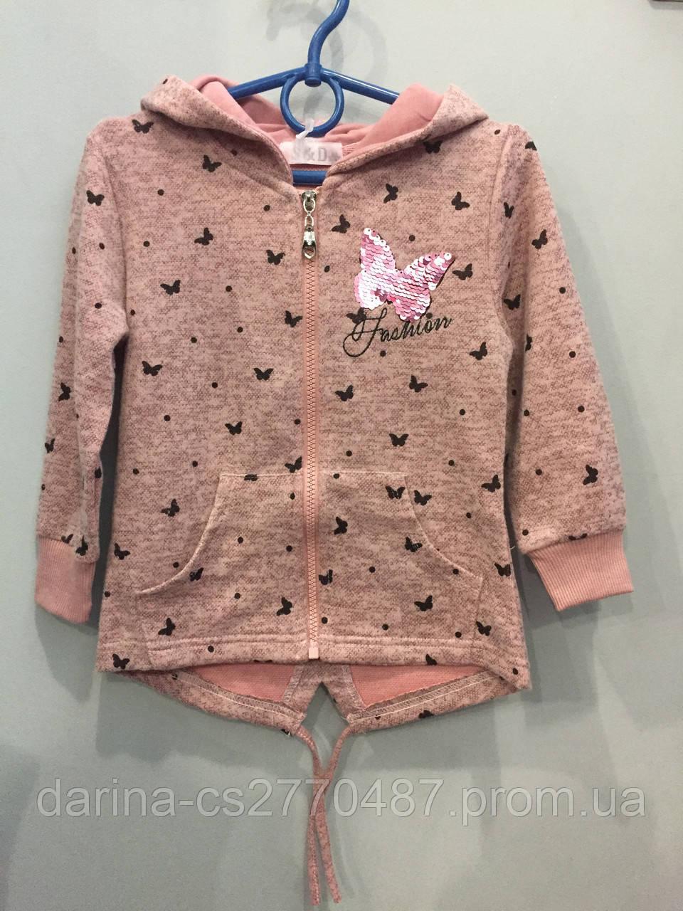 Детская пайта с бабочками для девочки