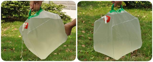 Туристическая складная канистра для воды на 10 литров, походная канистра