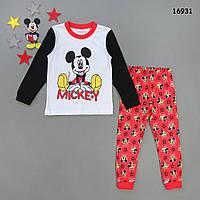Піжама Mickey Mouse для хлопчика. 110, 120, 130 см