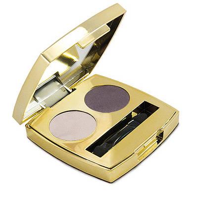 Тени для век Classic Eyeshadows Duo №1 Розовый жемчуг/Аметист 2,6g