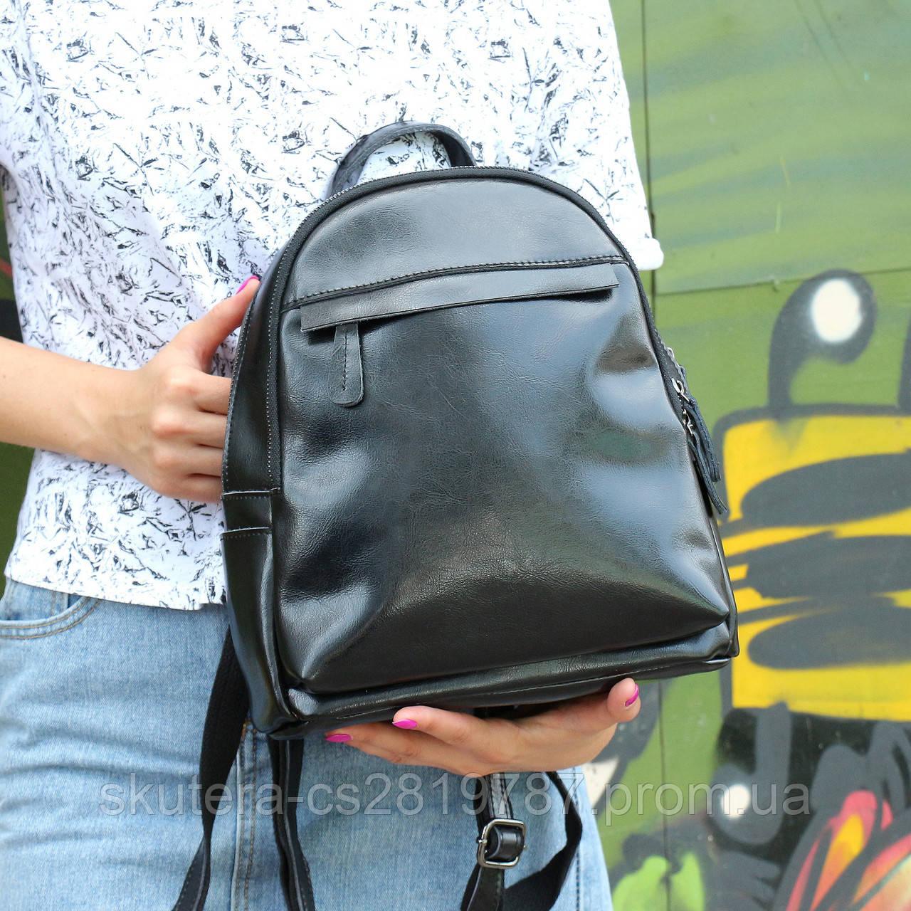 16faa919d8d3 Женский кожаный рюкзак