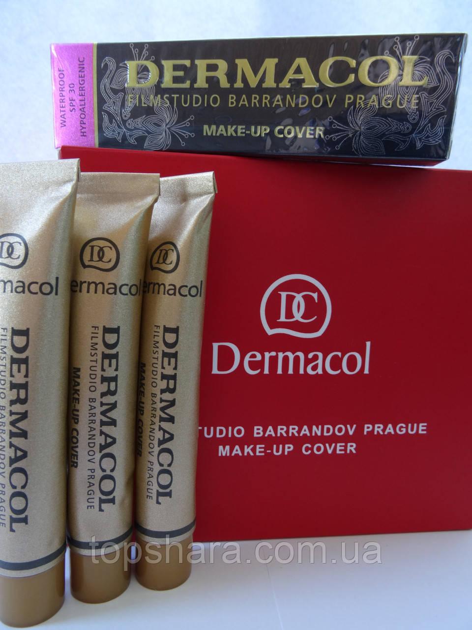 Тональная основа (крем) DERMACOL