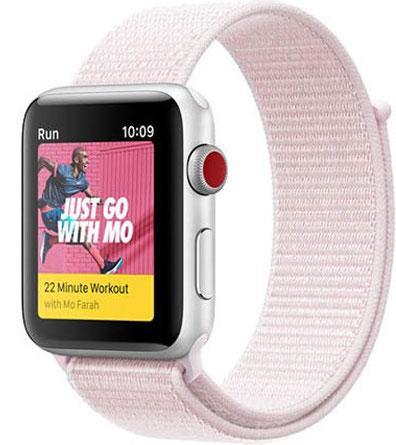 Ремінець Sport Loop OEM для Apple Watch 42/44mm Series 1/2/3 - Light Pink