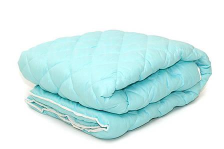 Одеяло летнее двуспальное 180*210, микрофибра, фото 2