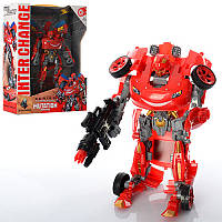 Трансформер 4095 23 см, робот+машинка, в коробке26-32,5-9,5 см