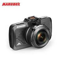Автомобильный видеорегистратор Marubox M330GPS с GPS информатором о стационарных камерах и радарах Ambarella, фото 1