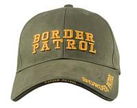 Бейсболка Пограничный патруль  DELUXE LOW PROFILE CAP - OLIVE DRAB - BORDER PATROL ROTHCO
