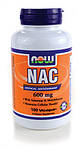 НАК (N-Ацетил-L-Цистеин) / NAC (N-Acetyl-L-Cysteine), 600 мг 100 капсул