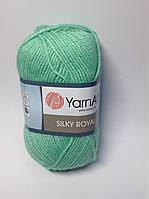 Пряжа silky royal YarnArt (35% шелк,65% шерсть)