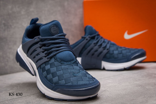 Кроссовки Nike Air Presto TP QS (сине/белые)