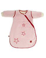Демисезонный спальный мешочек СТАР 90 см розовый Kaiser