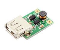 Підвищувальний DC / DC стабілізатор з 0.9-5В до 5В 600мА USB
