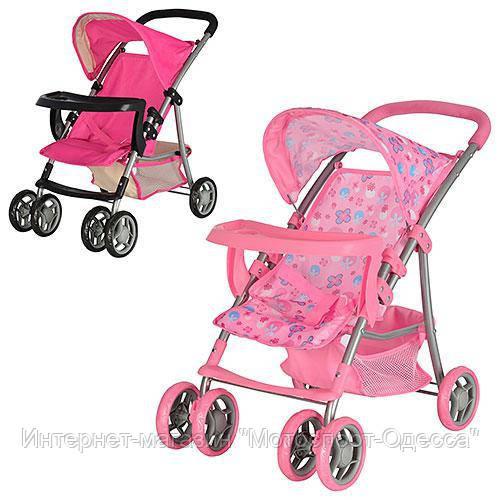 Детская коляска для пупсов и кукол  Melogo