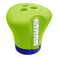 Дозатор-термометр Kokido K619BU (табл. 75 мм) зеленый