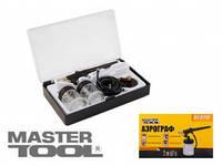 MasterTool Мини аэрограф с набором аксессуаров MasterTool 81-8710