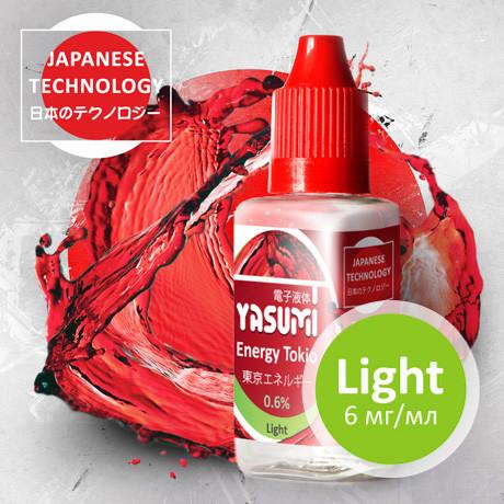 Жидкость Yasumi для электронных сигарет. Энергия Токио - Energy Tokio 30мл.