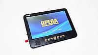 """Портативный телевизор Opera NS-1002B TV T2 10"""" USB, фото 2"""