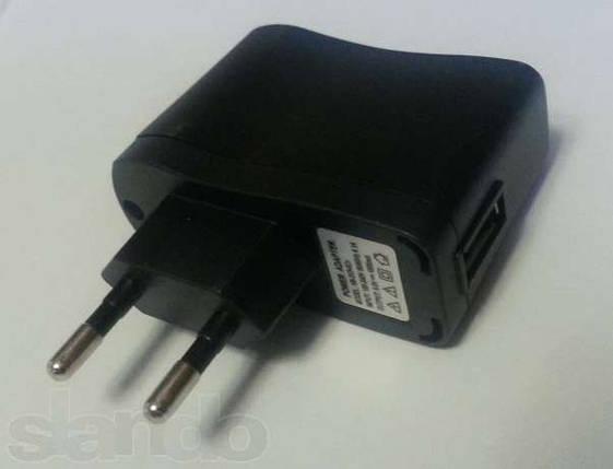 USB зарядное устройство 5V 500 mA, универсальное, , фото 2