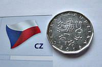 ЧЕХИЯ монета 2  кроны 2016 год, фото 1