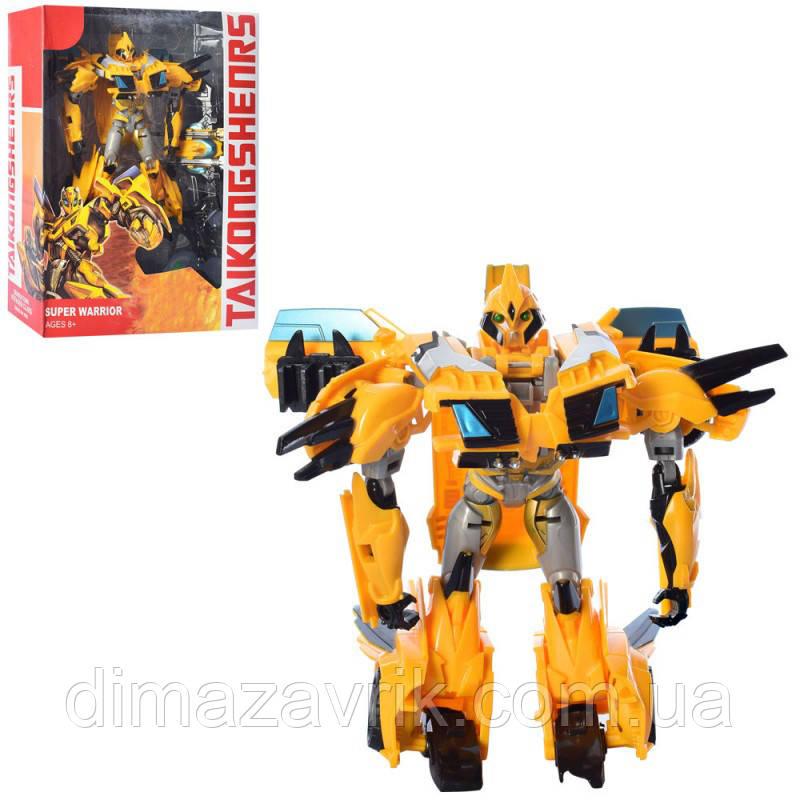 Трансформер 21188-4 робот+машинка, 21 см, оружие, в коробке25-31-10 см